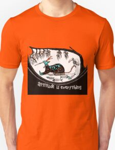 Attitude is everything (collaboration) Unisex T-Shirt