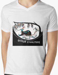 Attitude is everything (collaboration) Mens V-Neck T-Shirt