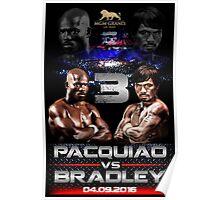 pacquiao vs bradley Poster