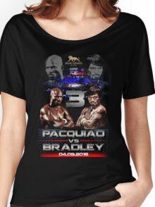 pacquiao vs bradley Women's Relaxed Fit T-Shirt