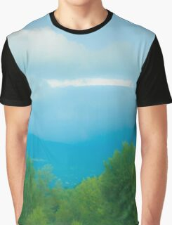 Train Travel Graphic T-Shirt