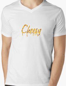 Cheesy Mens V-Neck T-Shirt