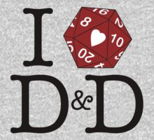 I Heart D&D Kids Clothes