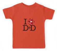 I Heart D&D Kids Tee