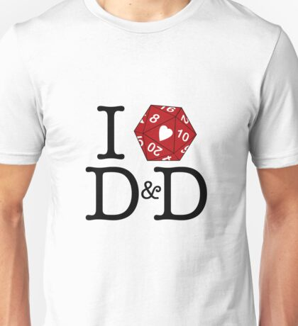 I Heart D&D Unisex T-Shirt