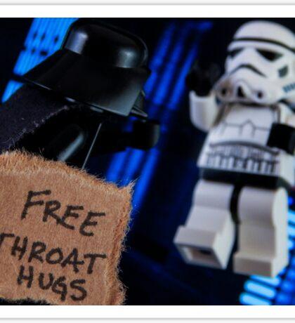 Free Throat Hugs Sticker