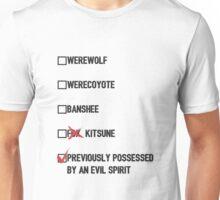 Stiles Stilinski- Teen Wolf Checklist (light) Unisex T-Shirt