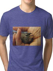 Baby rufous-crowned sparow Tri-blend T-Shirt