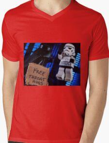 Free Throat Hugs Mens V-Neck T-Shirt