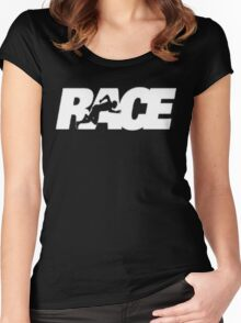 Race The Movie 2016 Women's Fitted Scoop T-Shirt