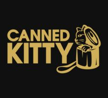 Canned Kitty Awards Black Tee/Poster by excaliburp