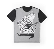 playing pipa Graphic T-Shirt