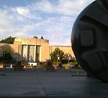 Black Hole Sun Asian Museum by Mike Cressy
