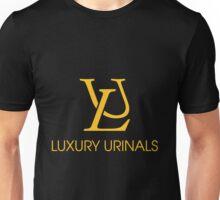 Luxury Urinals Black Tee/Poster Unisex T-Shirt