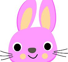 CUTE PINK BUNNY, by Furrphy's by Furrphys