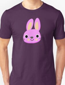 CUTE PINK BUNNY, by Furrphy's Unisex T-Shirt