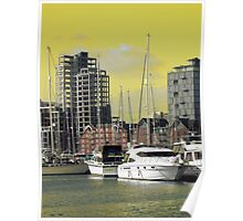 Yellow Regeneration, Ipswich Waterfront Poster