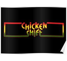 Arcade Classic - Chicken Shift Poster