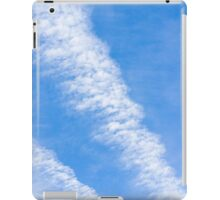 Clouds with blue sky iPad Case/Skin