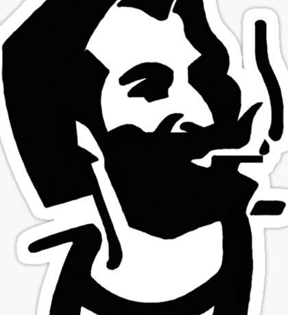 Zig Zag Man Sticker