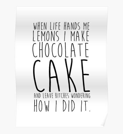 Life and Lemons Poster