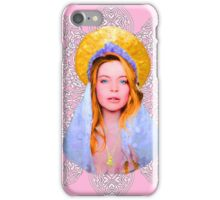 Saint Lindsay Icon Saturated 100 Pink iPhone Case/Skin