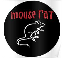 Mouse Rat Logo Poster