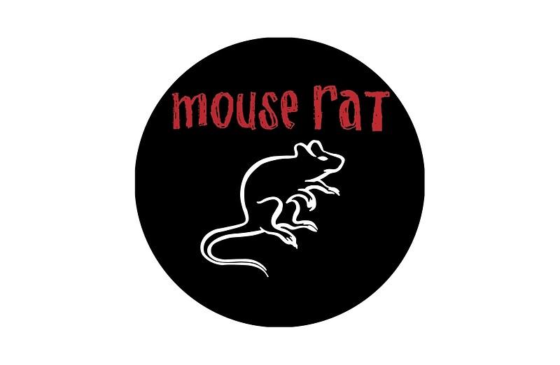 Quot Mouse Rat Logo Quot Laptop Skins By Josiahfrench Redbubble