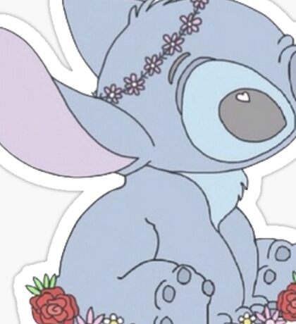 Lilo from Lilo & Stitch Sticker