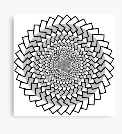 Spirally Arrows! Canvas Print