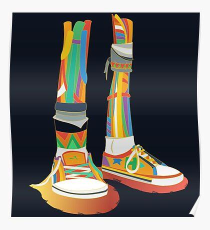 Rainbow Kicks Poster