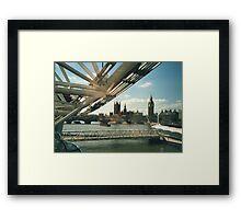 Simply A London Landscape Framed Print
