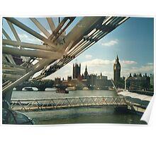 Simply A London Landscape Poster