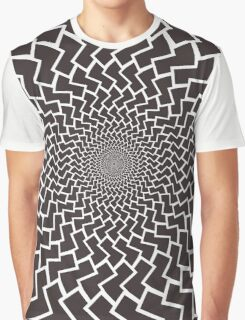 Spirally Arrows! Graphic T-Shirt