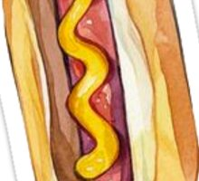 Hot Dog Fast Food Sticker