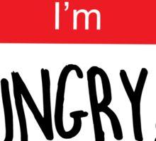 Hello I'm Hungry!!! Sticker