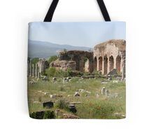 The Tetrastoon, Hall of Emperors and Theater Baths Tote Bag