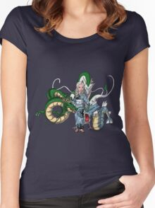 Mother of Dragons Crossover Women's Fitted Scoop T-Shirt