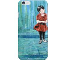 """""""Girl with the Red Dress"""" iPhone Case/Skin"""