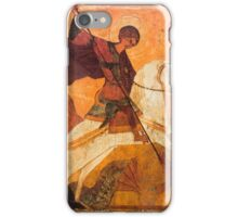 Old Russian icon of St.George iPhone Case/Skin