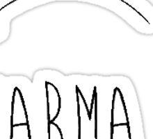 Karma Loops Sticker