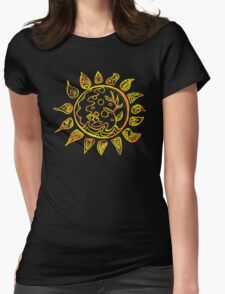 Sunny Day Womens Fitted T-Shirt