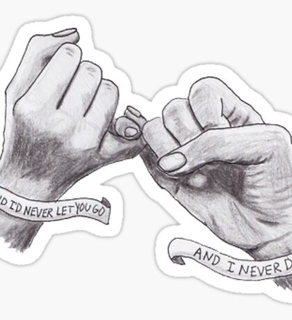 """""""I said i'd never let you go and i never did"""" Lyrics - A day to remember Sticker"""