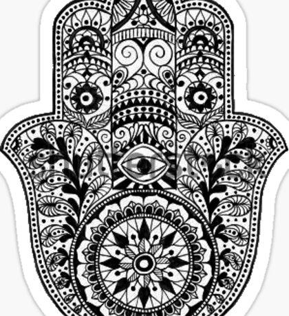 Hamsa #2 Sticker