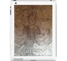 Buddhism girl  iPad Case/Skin