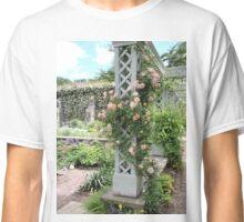 Peach & Green Trellis Classic T-Shirt