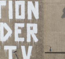 Banksy - One Nation Under CCTV - Sticker