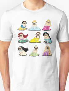Pug Princesses Version 2 T-Shirt