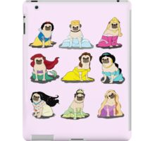 Pug Princesses Version 2 iPad Case/Skin