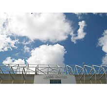 Blue Sky over Leeds United FC Photographic Print